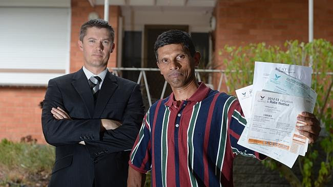 Estate agent John Garnett and Gerard Rebeiro took on Knox Council – and won. Picture: Sus