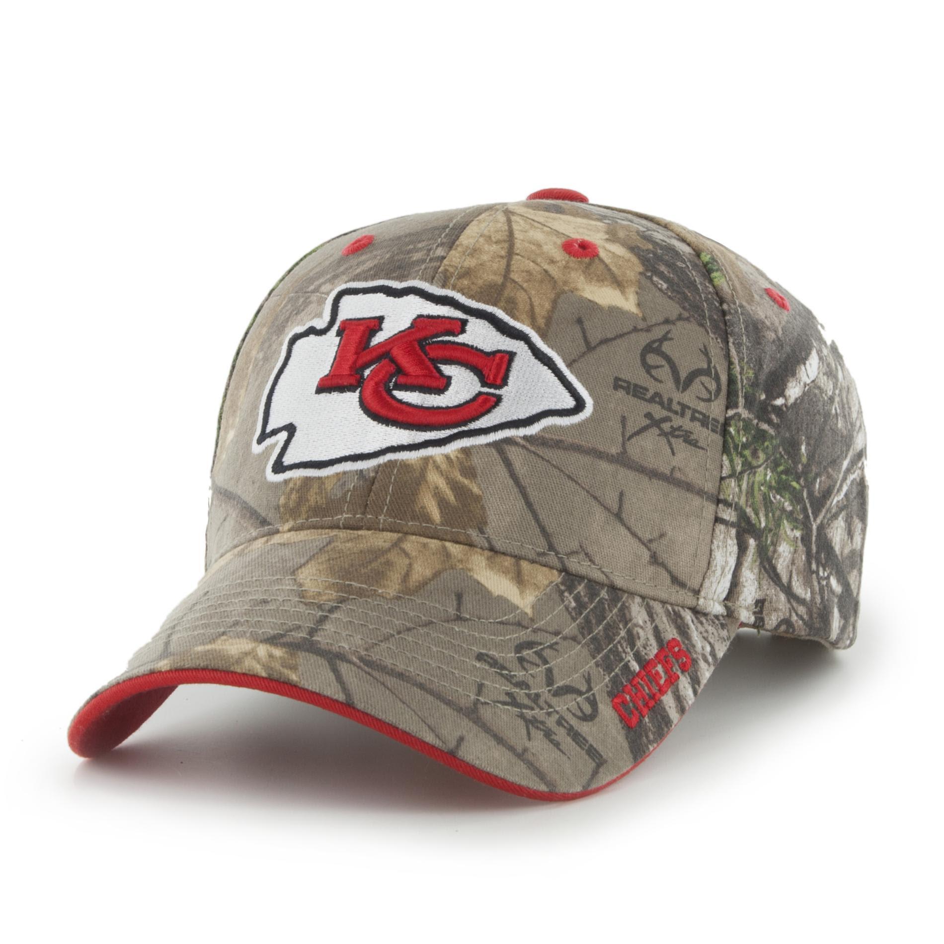 NFL Mens Camo Baseball Hat  Kansas City Chiefs  Kmart