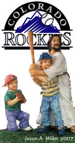 Jesus Baseball - Colorado Rockies