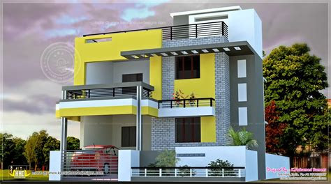 india house plan modern style home kerala plans dma