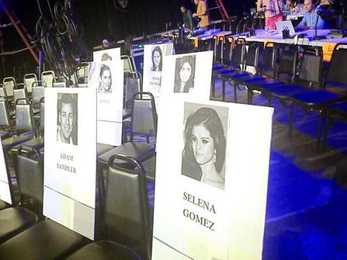 Where Selena Gomez will be sitting at the 2013 MTV Movie Awards!