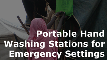 Portable Hand Washing Stations for Emergency Settings