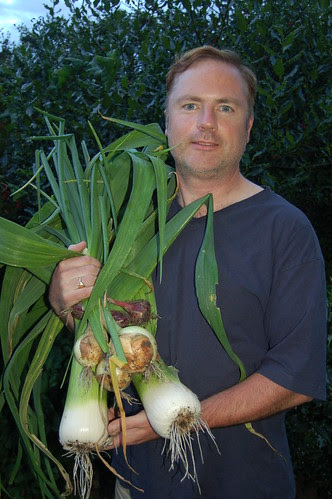 leeks and onions Sept 12
