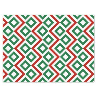"Christmas Meander Tissue Paper 17"" X 23"" Tissue Paper"