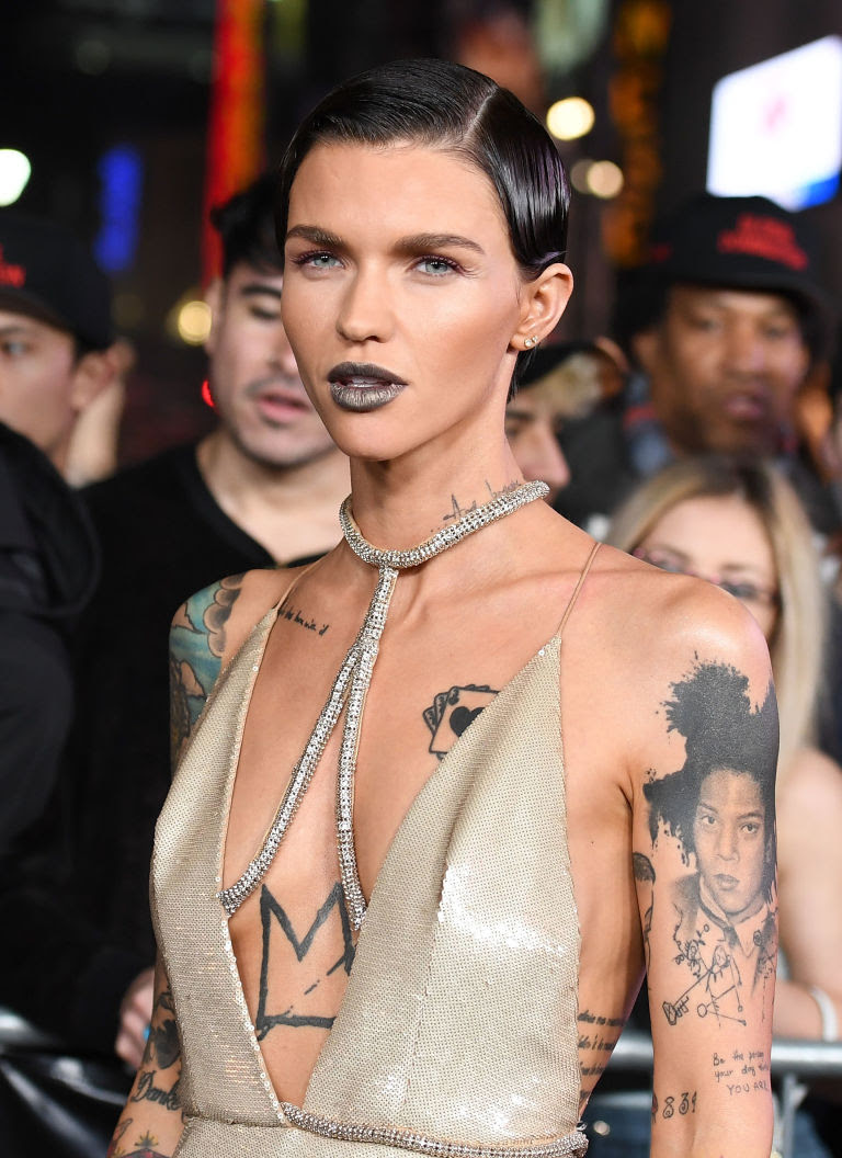 YOU CAN BUY RUBY ROSE'S INSANE LIPSTICK SHADE