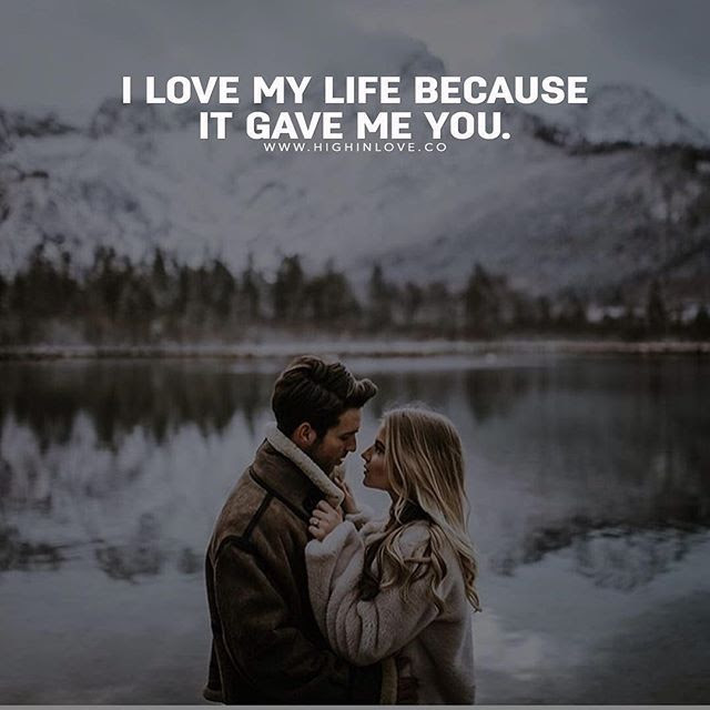 I Love My Life Because It Gave Me You Pictures Photos And Images