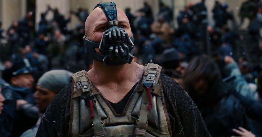 The Dark Knight Rises Christopher Nolan Tom Hardy Bane