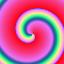 Esempi di gradienti spiraliformi