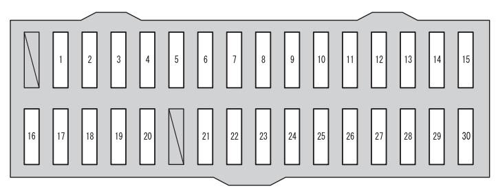 Toyota Rav4 Xa40 2012 2014 Fuse Box Diagram Auto Genius