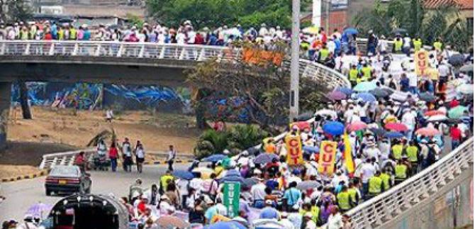 Autoridades locales instaron a caleños a expresarse pacíficamente este 1 de mayo