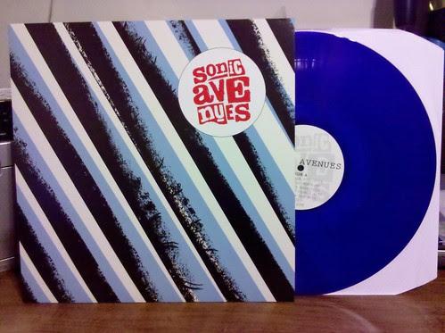 Sonic Avenues - S/T LP - Blue Vinyl /100