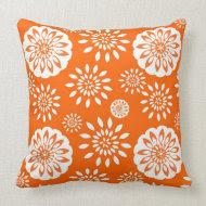 Orange Blossom Special throwpillow