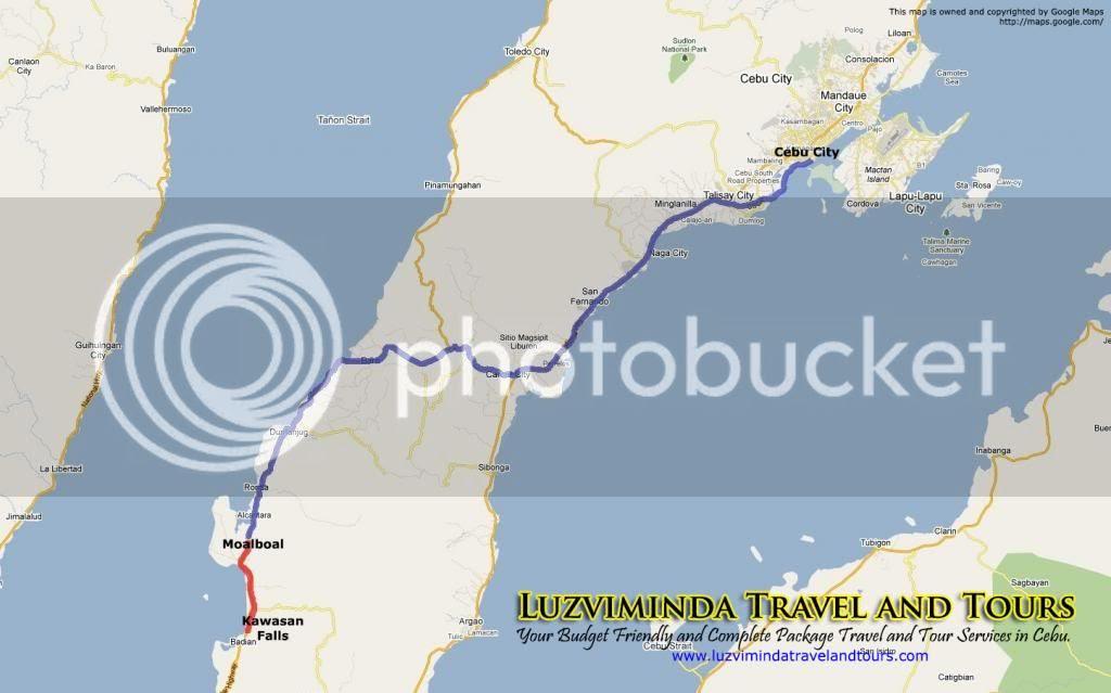 Moalboal Beach Adventure + Kawasan Falls Nature Trek in Cebu Tour Itinerary 2 Days 1 Night Package