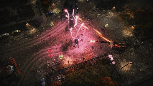Renegade Ops - Launch Screens