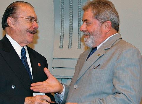 Lula fez comparação de Sarney a Ulisses Guimarães