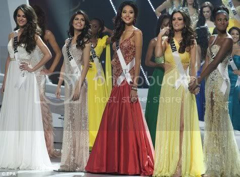 Miss Universe 2011 Top 5 Evening Gowns
