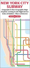 Tauranac's New York Subway Map