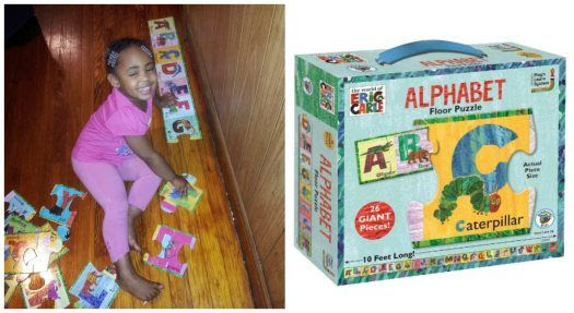 The World of Eric Carle Alphabet Floor Puzzle Review
