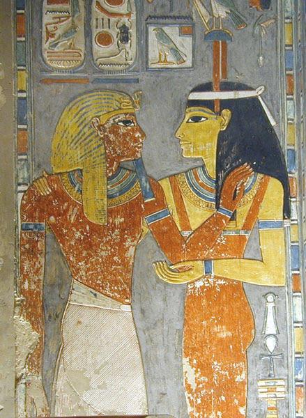 File:La tombe de Horemheb (KV.57) (Vallée des Rois Thèbes ouest) -2.jpg