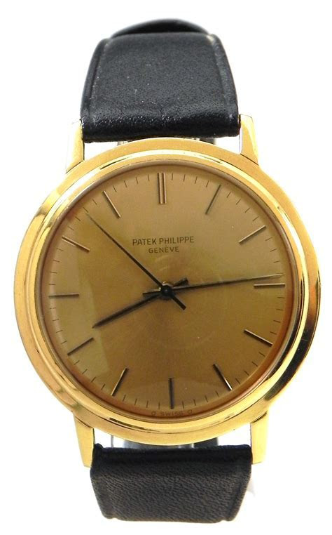 Patek Phillippe 3569 18k Yellow Gold Sweep Second Hand