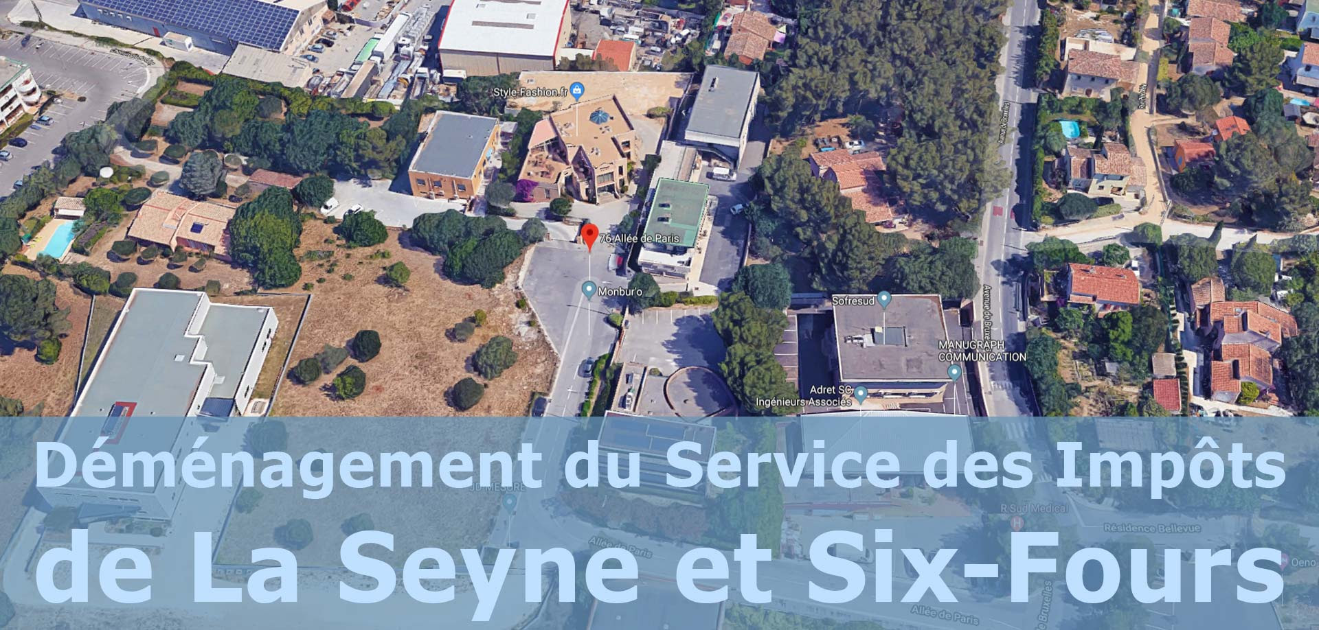 Laseyneinfo Déménagement Du Service Des Impôts De La
