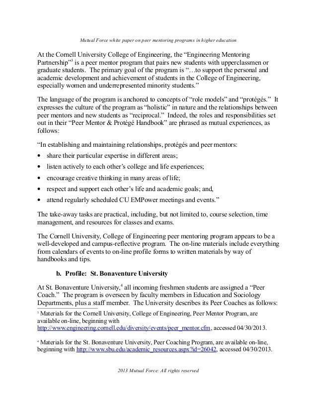 Essay Writing Service Peer Mentor Resume
