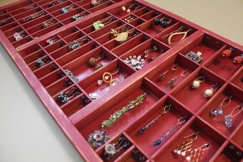 Ruby Red Jewelry Organizer
