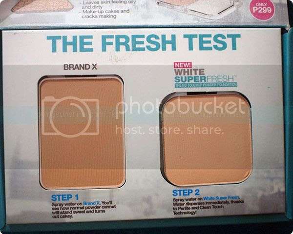 Maybelline White Superfresh Powder