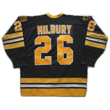 Boston Bruins Milbury 79-80 B