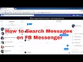 How To Image Search On Facebook Messenger