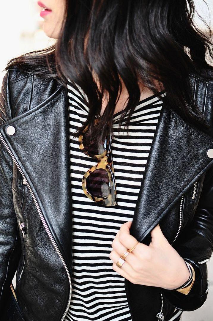 Le Fashion Blog -- Fall Mix: Leather Jacket, Striped Tee And Cat-Eye Sunglasses -- Via Her Imanjination -- photo Le-Fashion-Blog-Fall-Mix-Leather-Jacket-Striped-Tee-Cat-Eye-Sunglasses-Via-Her-Imanjination.jpg