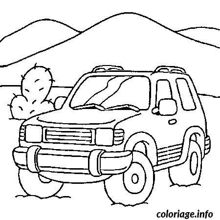 Coloriage Voiture Rallye Jecoloriecom
