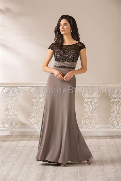 Jasmine Bridal Jade Style J185008 in Black / Java