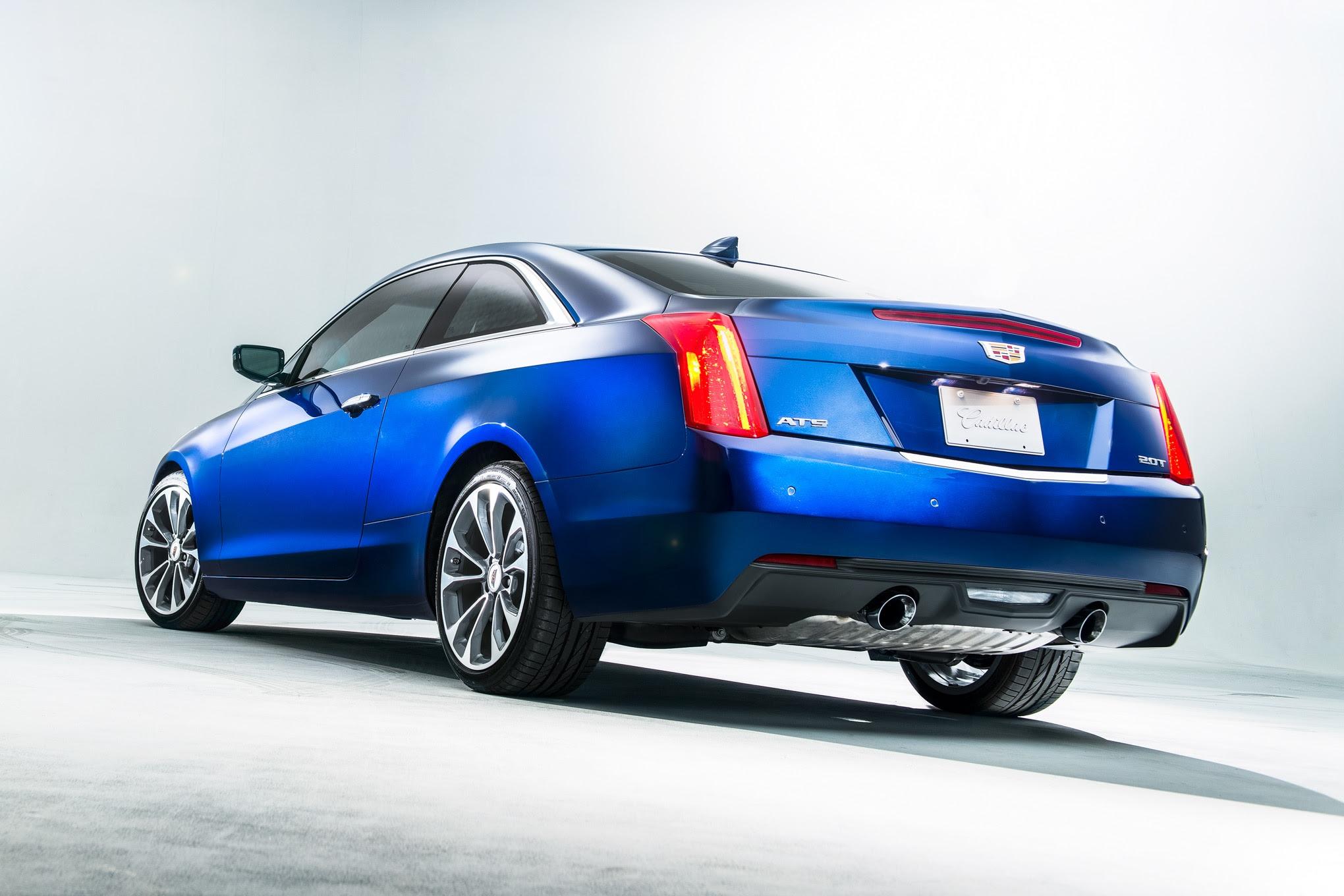 2015 Cadillac ATS Coupe Debuts At 2014 Detroit Auto Show ...