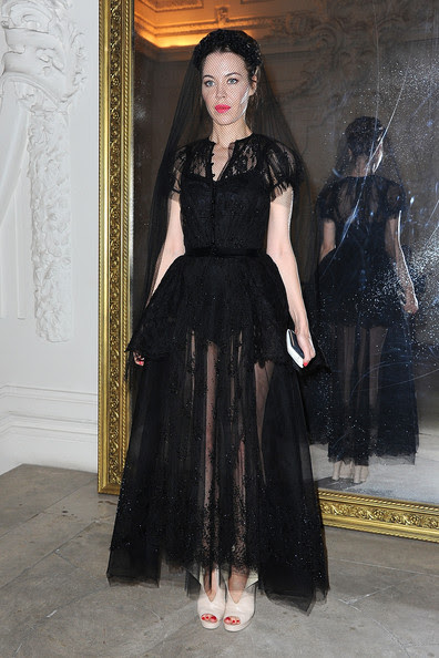 Ulyana Sergeenko - Jean-Paul Gaultier: Front Row - Paris Fashion Week Haute Couture F/W 2013