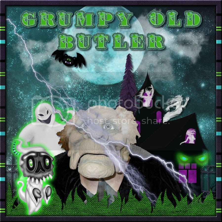 Grumpy Old Butler