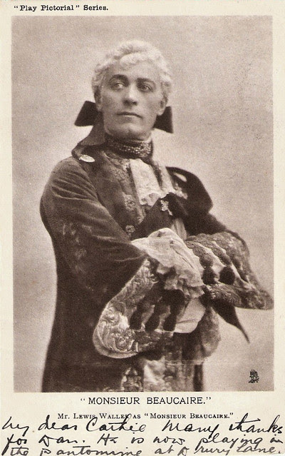 Lewis Waller as Monsieur Beaucaire