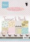 PK9110 Pretty Papers bloc Twinset en Pearls