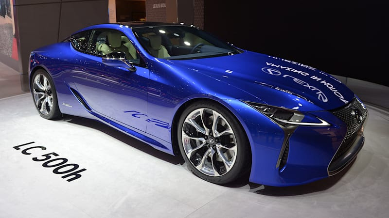 2018 Lexus LC 500h is a wonderful mechanical mishmash - Autoblog