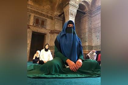 Экс-депутат Рады показала свое фото в никабе и рассказала о взглядах на религию