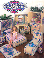 Fashion Doll Contemporary Diamonds Water Bed Suite - Electronic Download