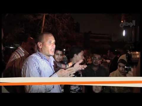 بالفيديو : مظاهرات مؤيدة للفريق شفيق بعد احراق مقره .. آخر الصور