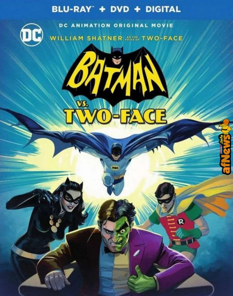 Il BATMAN animato con Adam West esce il…
