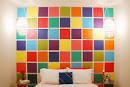 Dollar Store Crafts » Blog Archive » Make a Cheap Mosaic Wall ...