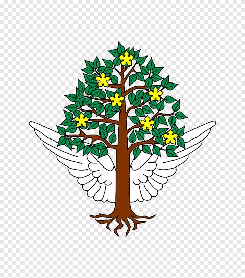 شعار قرية ورقة الشجر