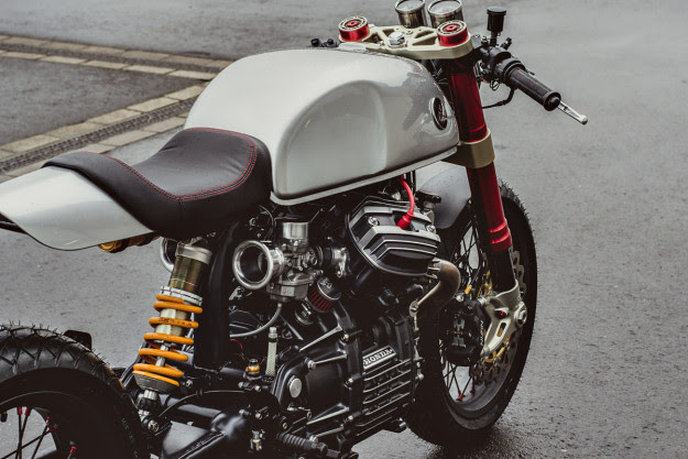 Whod Have Thought That The Humble Honda CX500 Would One Day Join CB750 And SR500 As A Staple Of Custom Builders Poor Mans Guzzi Once Loved Only