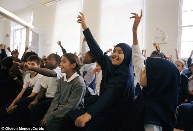 The number of Muslim children in England and Wales has doubled in a decade, according to an analysis of 2011 Census data for the Muslim Council of Britain (file photo)
