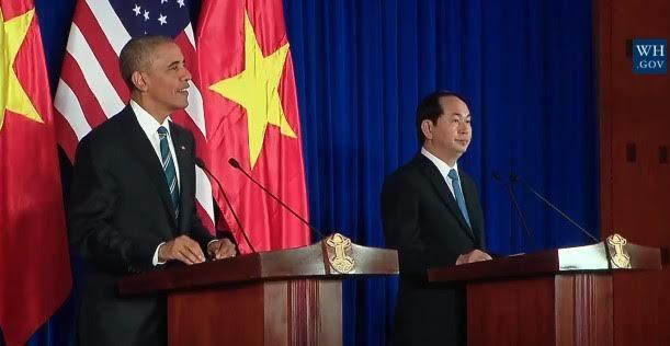 tổng thống Obama thăm Việt Nam, dỡ bỏ cấm vận vũ khí, tổng thống Obama, Obama thăm việt nam, Obama đến Việt Nam, Obama, tổng thống Mỹ, Barack Obama, cấm vận vũ khí