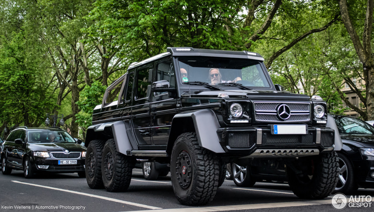 Mercedes-Benz G 63 AMG 6x6 - 4 June 2014 - Autogespot