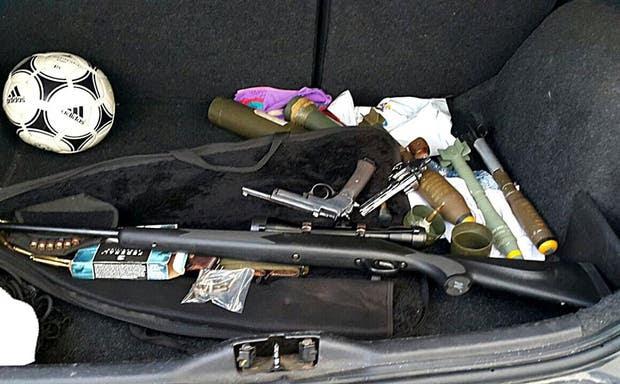 Material que era vendido a narcotraficantes en Rosario